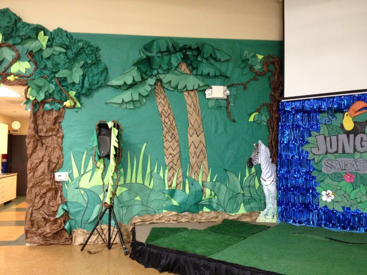 Vbs Jungle Theme Vbs Jungle Art Jungle Theme Camping