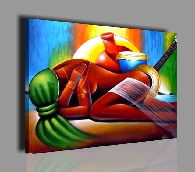 cuadros modernos pintados a mano oleo sobre lienzo ebay