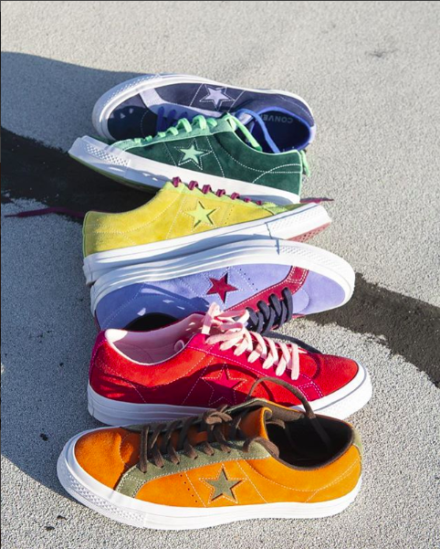 4e7756f0512988 CONVERSE ONE STAR CARNIVAL LOW TOPS