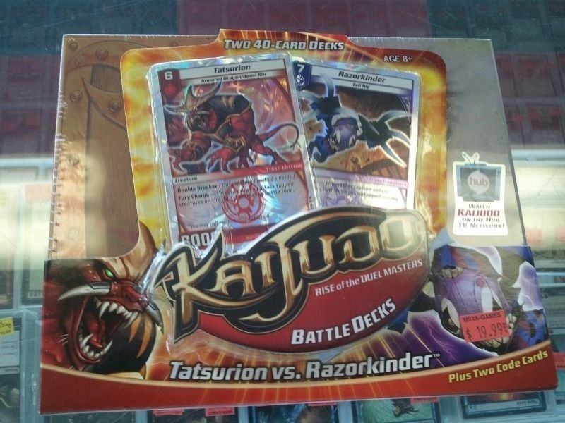 Kaijudo duel masters is back 2 player starter sets 19