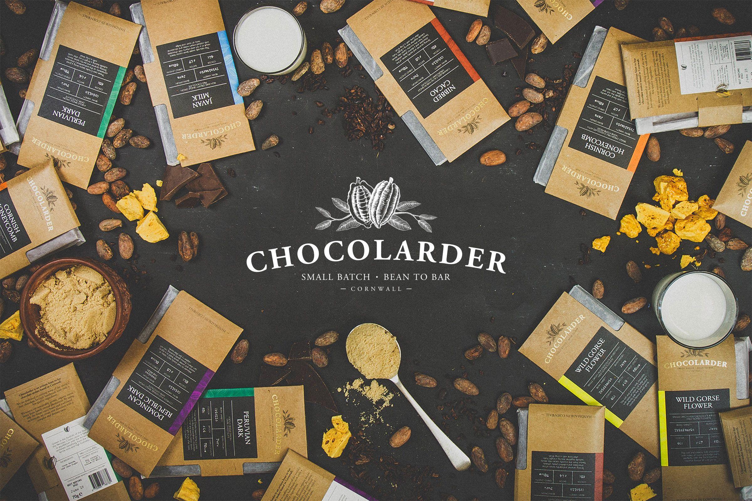 Before & After: Chocolarder — The Dieline - Branding & Packaging