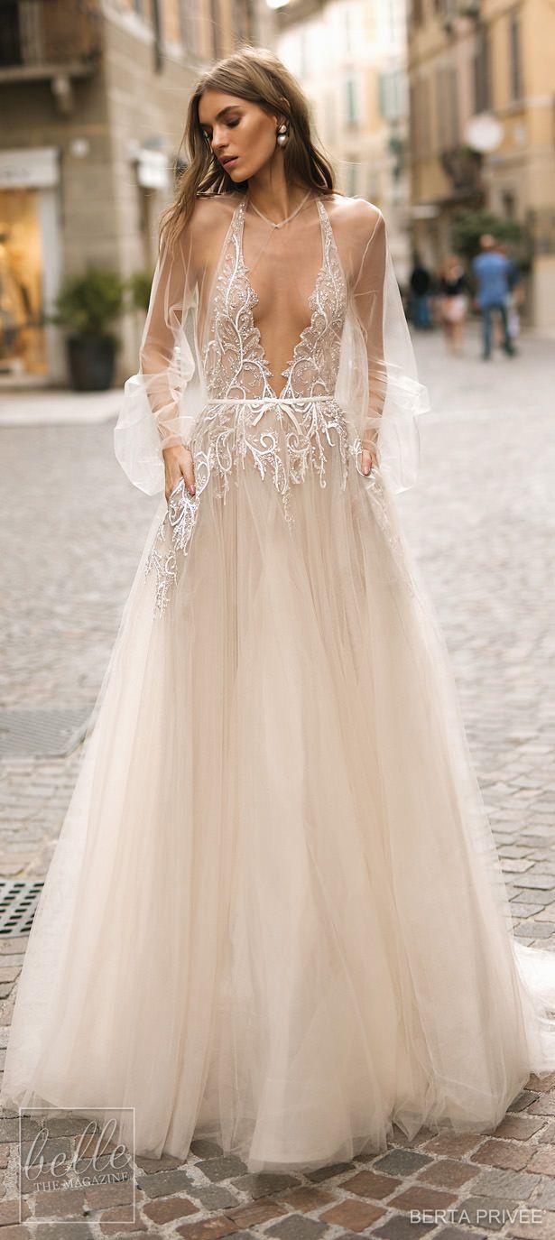 Back of wedding dress  BERTA PRIVEÉ  Wedding Dress Collection  Wedding Dresses