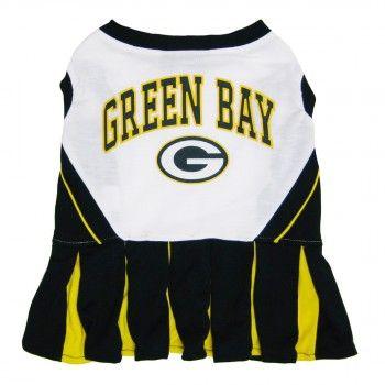 Green Bay Packers Go Pack Go Dog Pet Jersey T-Shirt Pet/'s First Size XL NEW