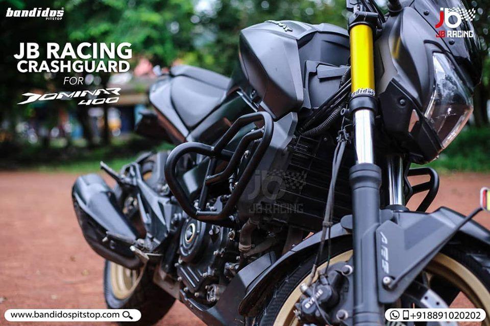 A Must Have For Your Bajaj Dominar Jb Racing Premium Crash Guards
