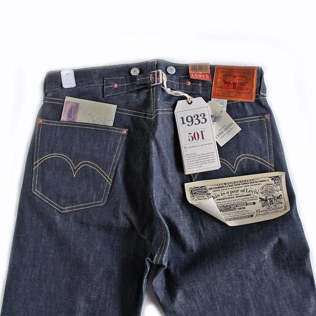 1563a67b LVC (Levi's Vintage Clothing) - 1933 Model 501XX Jeans(rigid) in ...