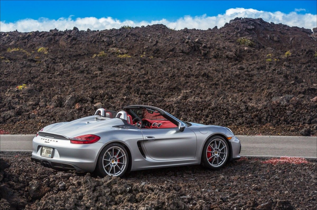 Road Testing the Porsche Boxster Spyder Hallelujah, This