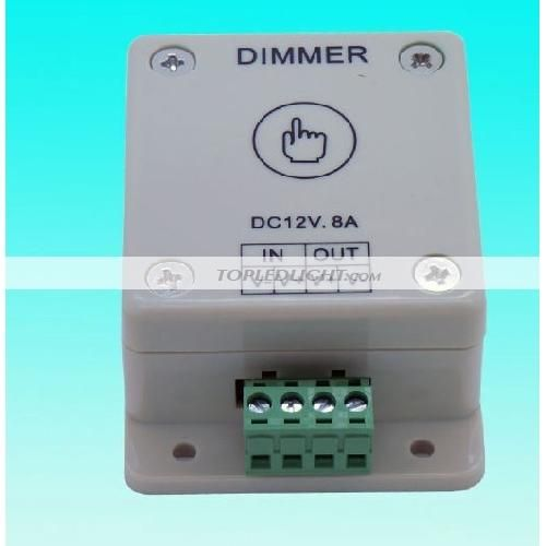 Touch Panel Led Dimmer 1 Channel 12v Us 9 99 Official Kiwi Lighting Blog Led Dimmer Dimmer Led Lights