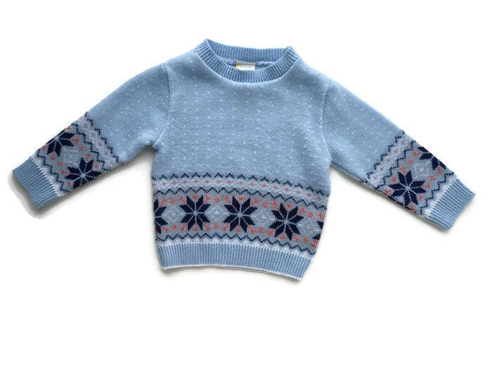 Vintage baby clothes, nordic boy sweater, ugly christmas sweater ...