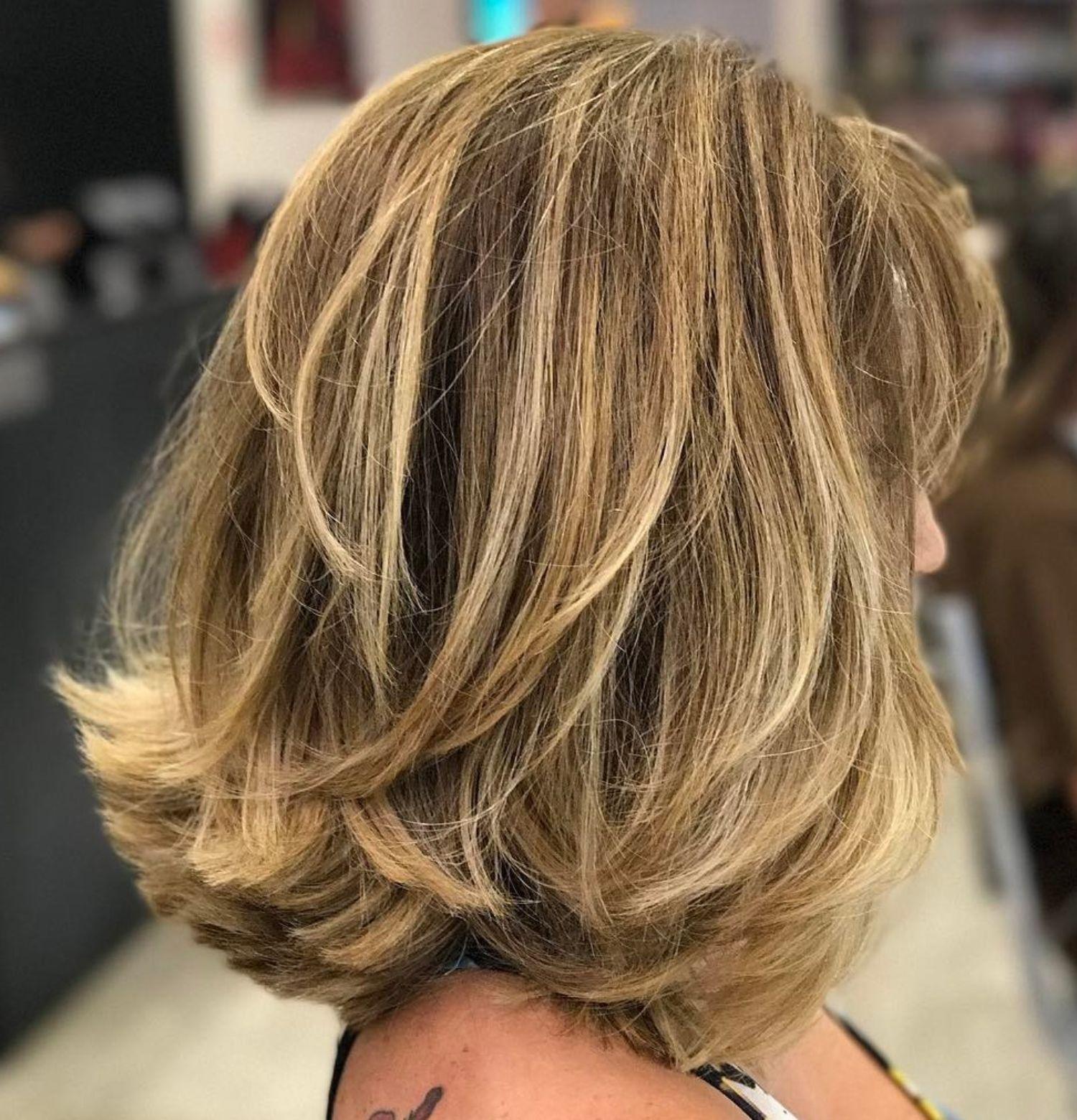 sensational medium length haircuts for thick hair hair