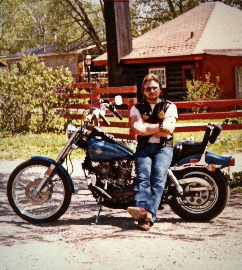 1981 Fxwg My First Brand New Harley Davidson Mon Prwmier Harley