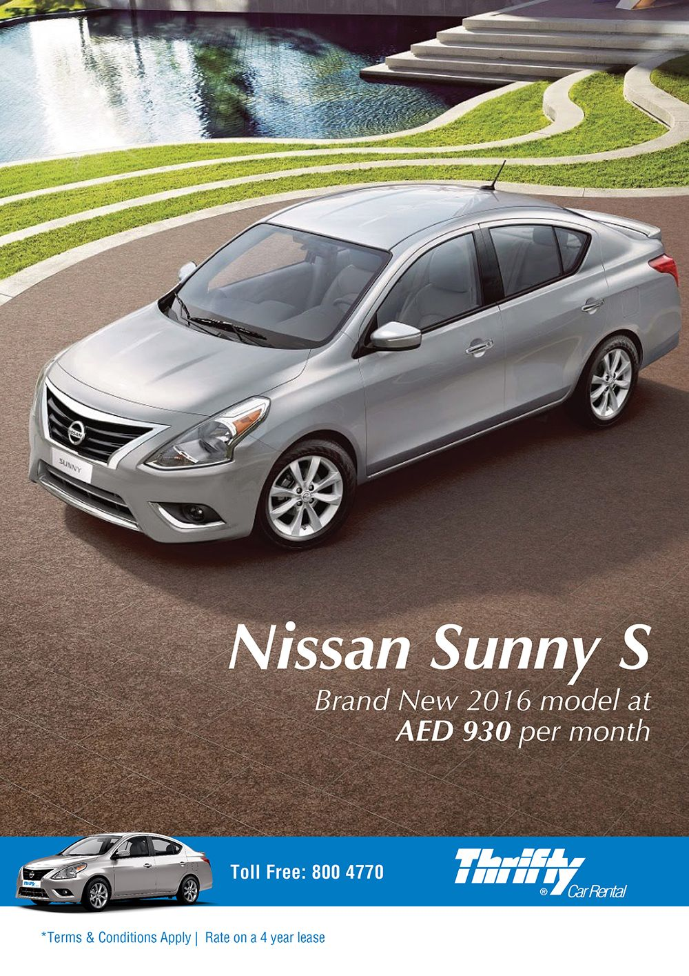 Pin By Thrifty On Rent From Thrifty Nissan Sunny Car Rental Rental