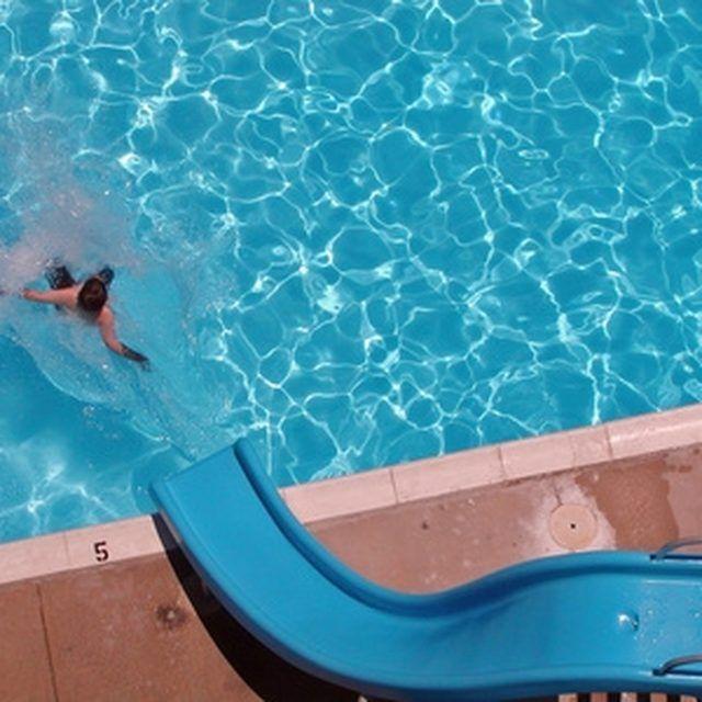 How to Paint Fiberglass Pool Slides in 2019 | Sandy | Swimming pool ...