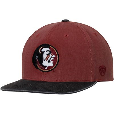 cheap for discount 362a7 537e9 Men s Top of the World Garnet Florida State Seminoles NCAA Top VC Saga  Snapback Adjustable Hat