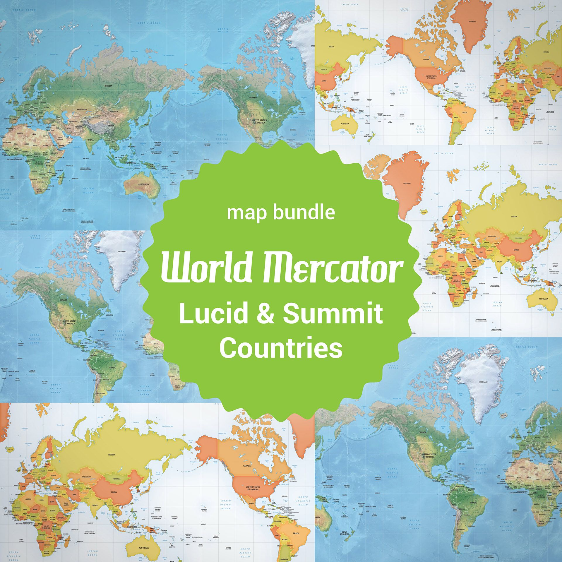 Buy 6 vector world maps mercator lowest price 63 off geografa buy 6 vector world maps mercator lowest price 63 off gumiabroncs Choice Image