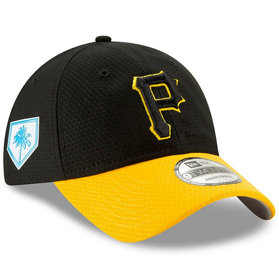 new product ce991 e08a6 Men s Pittsburgh Pirates New Era Black Yellow 2019 Spring Training 9TWENTY  Adjustable Hat,  29.99