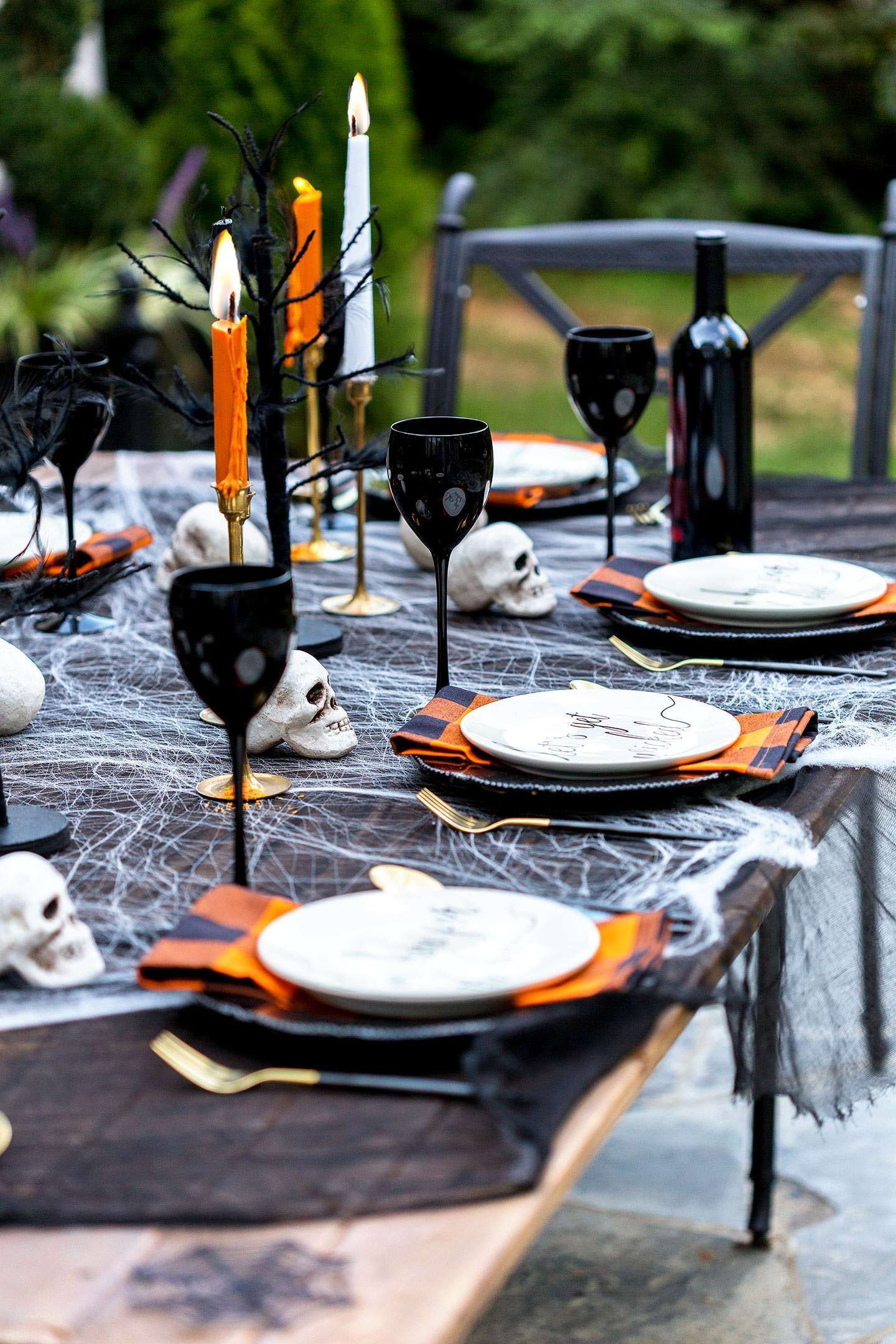 inspirational halloween party food table ideas | holiday & party