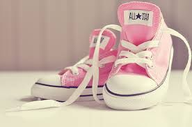 5b7a5f9a69dc all star pink candid ? | fashion | Pink shoes, Baby converse, Pink ...