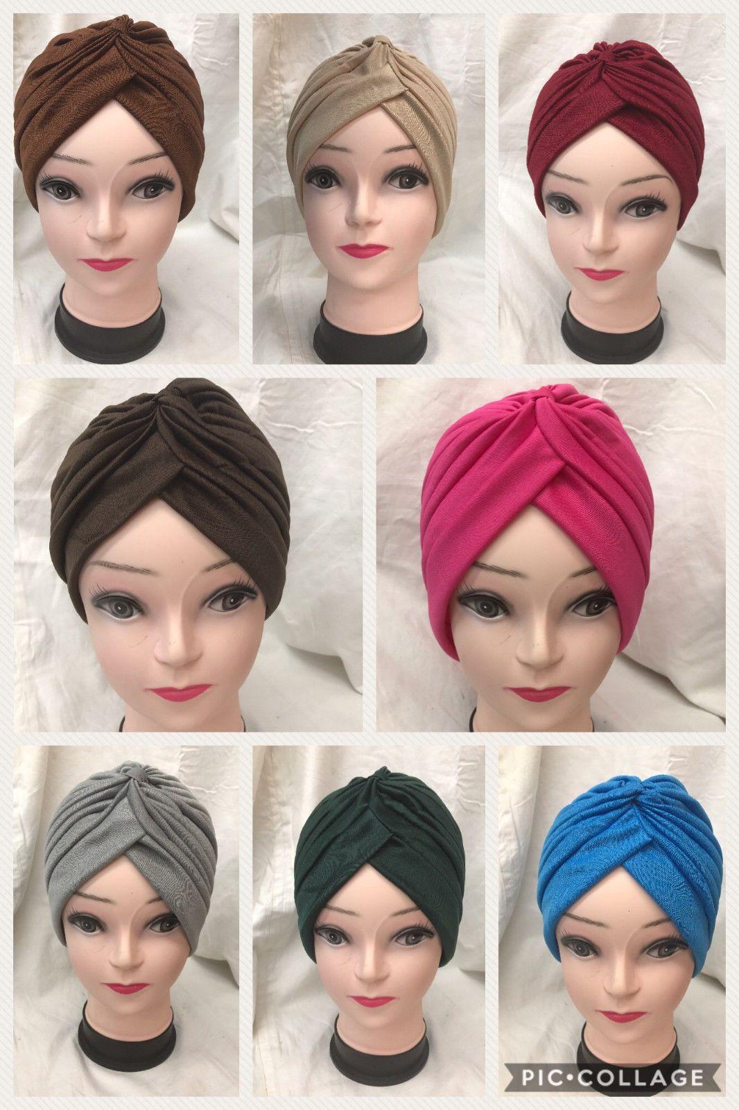 Velvet Turban LEOPARD TIGER ZEBRA Hat Cap Hijab Hairband Hair Loss Chemo Plain