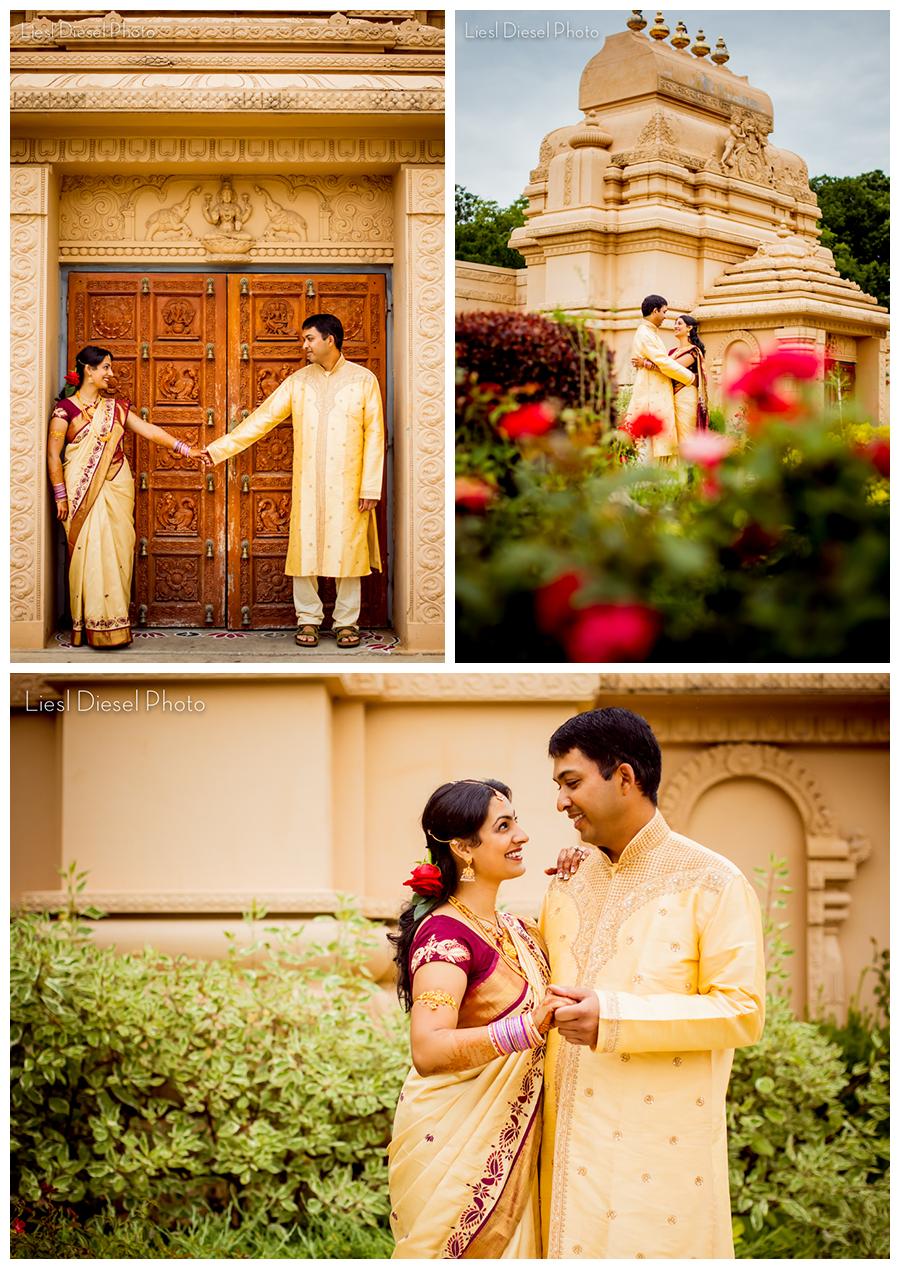 Malibu Hindu Temple Sangeet Wedding Photography By Liesl Sel Photo Roses Gold Creme Burgundy