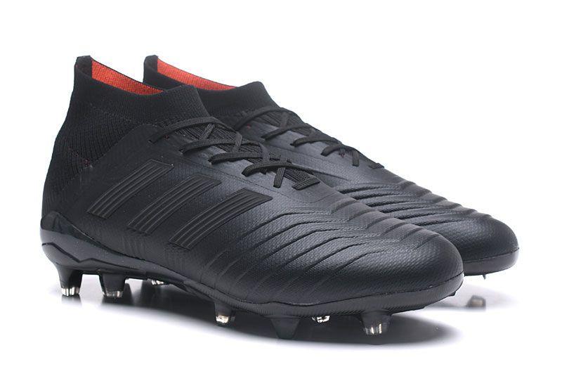 Botas de fútbol adidas PRougeator FG Negro botas de futbol