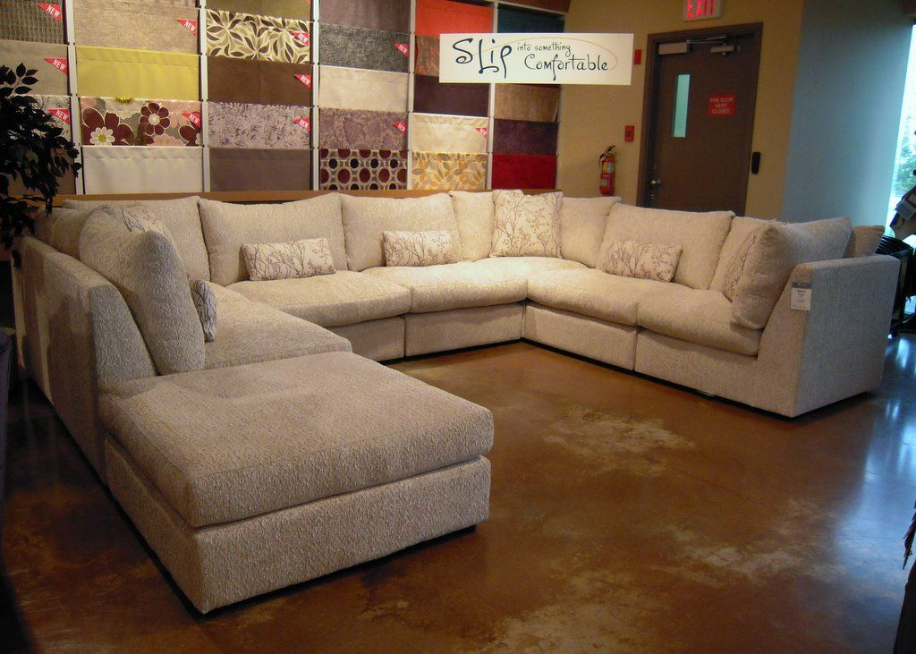 this is our new bram sectional itu0027s totally modular so it can be