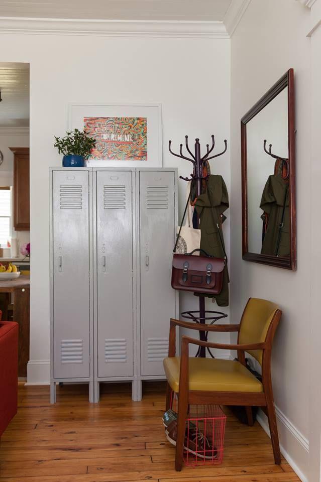 Décoration industrielle   vintage dans lu0027entrée du0027un appartement - deco entree d appartement