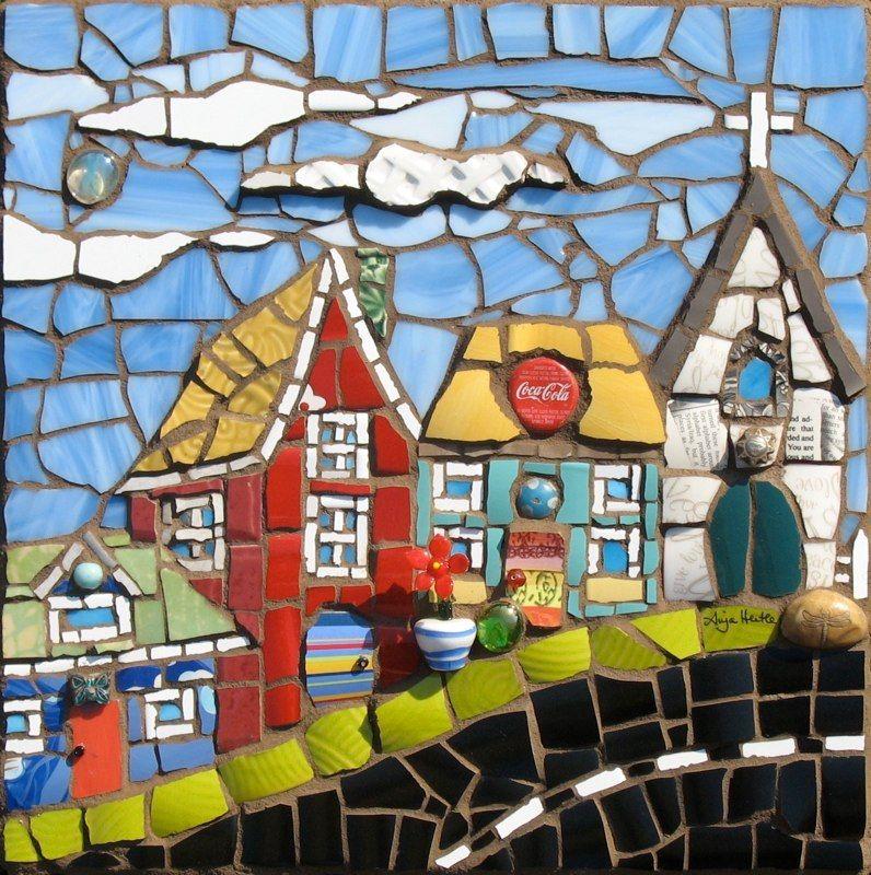 mosaic artist anja hertle mosaic pinterest mosaik. Black Bedroom Furniture Sets. Home Design Ideas