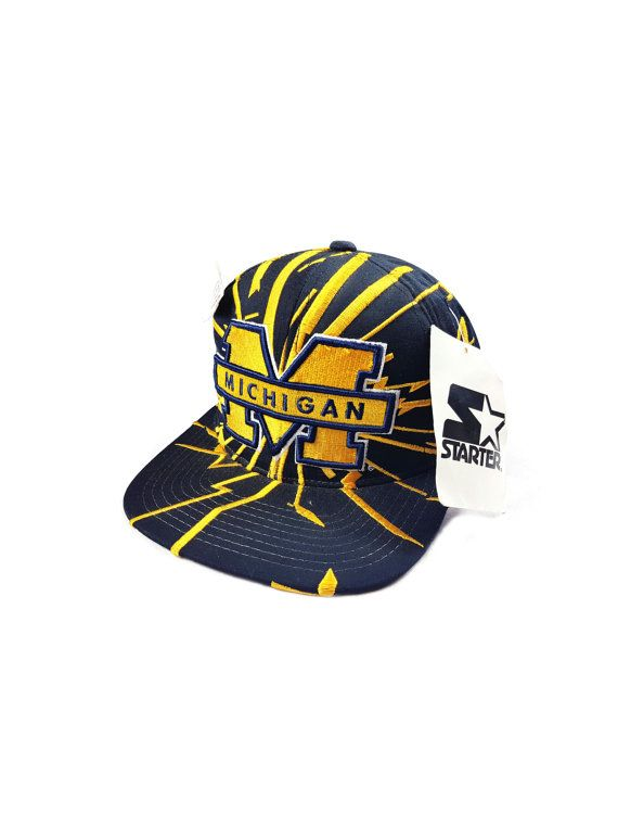 online store eed8b 01088 Michigan Wolverines NCAA Football Starter by IllGottenGains