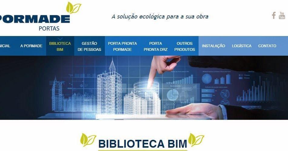 A Pormade é a primeira empresa de portas no Brasil, a lançar uma biblioteca de produtos, para a plataforma BIM. Nesta biblioteca, o usuário...
