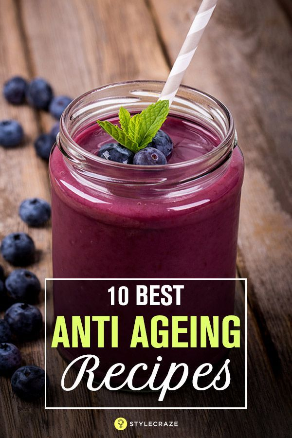 homemade tips for anti ageing