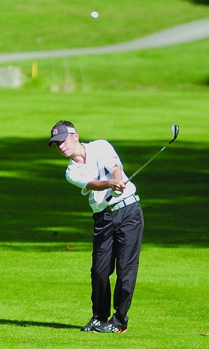 Boys Sectional Golf Van Buren Kalida And L B Win Titles Golf Tournament Van Buren Sports Story