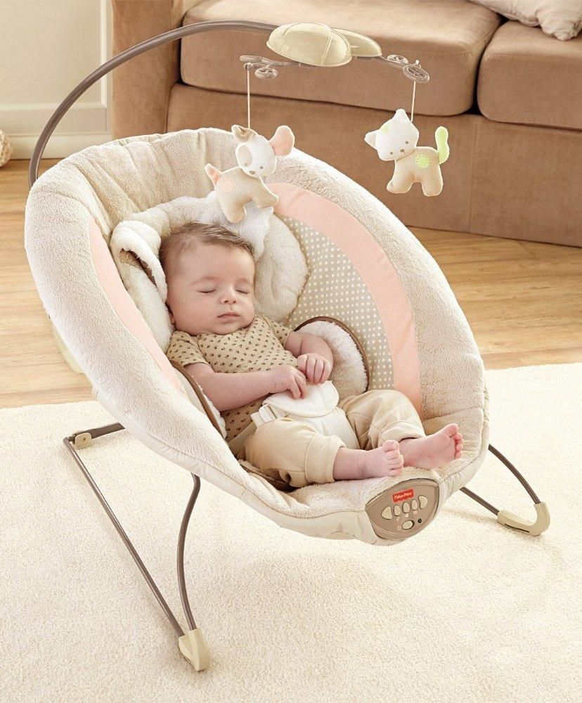 9c3114b73 Amazon.com   Fisher-Price My Little Snugapuppy Deluxe Bouncer ...