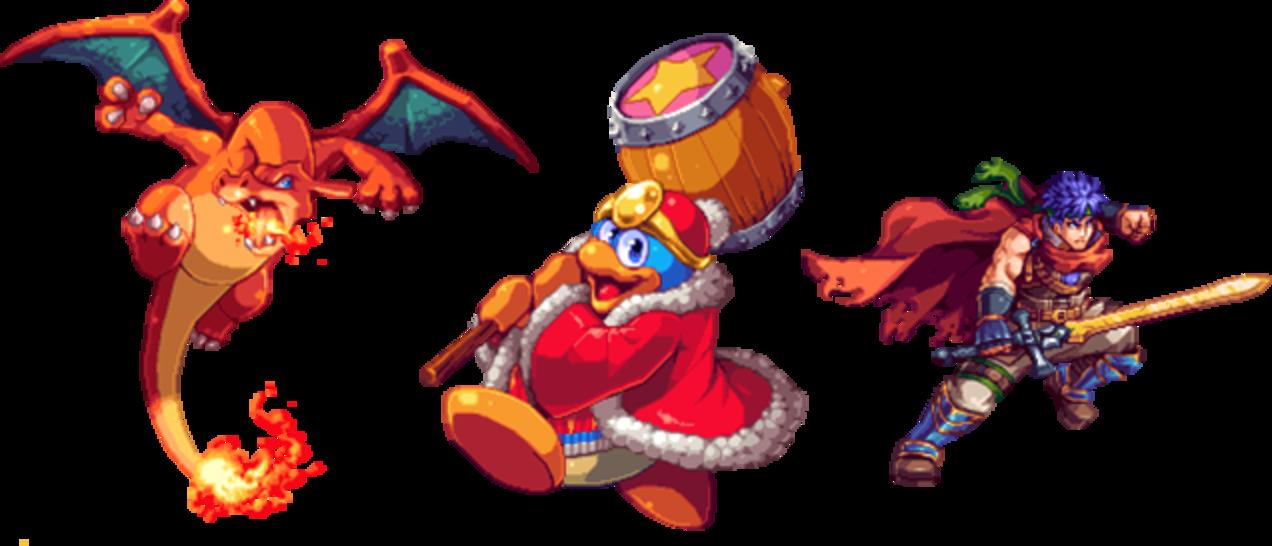 Smash Bros. Characters Turned Into Gorgeous Pixel Art | Pixel art, Nintendo  art, Smash bros