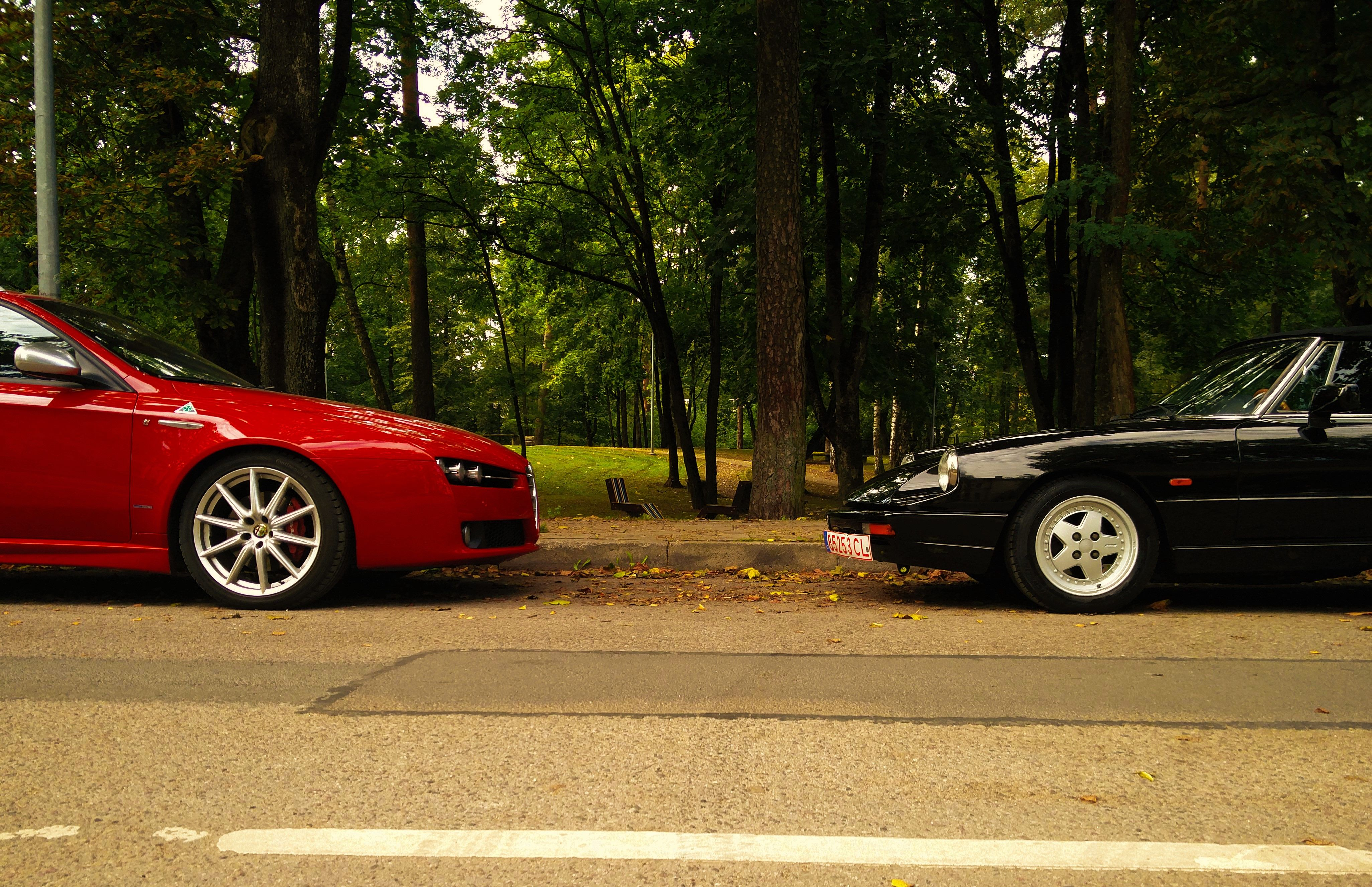 Old vs New Alfa 159 Q4 ti vs Alfa Spider S4 alfaromeo spider