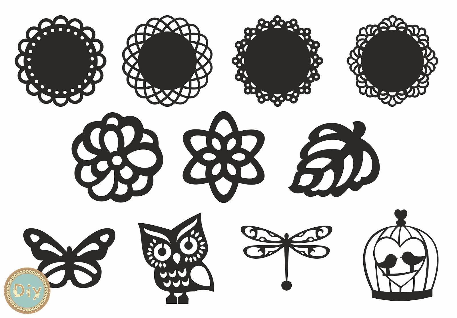 plantillas para silhouette cameo gratis - Google Search | Cameo ...