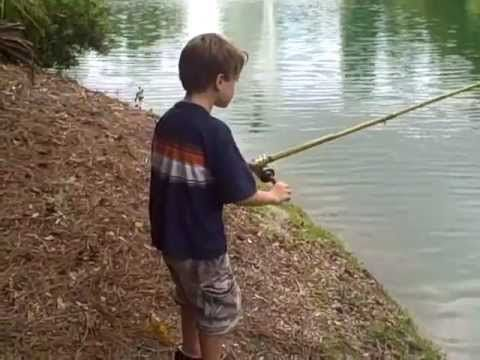 Make Your Own Cane Fishing Pole! | Huck Finn School | Carp