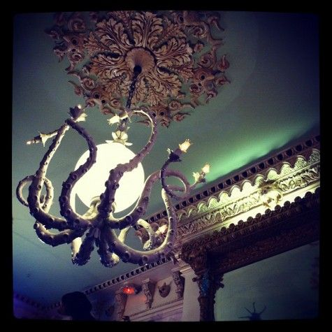 We're getting an octopus chandelier. <3 They are so awesome.