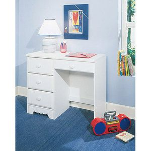 New Visions By Lane Student Desk Reflections Collection Chloe With Images White Desk Walmart White Desks Small White Desk