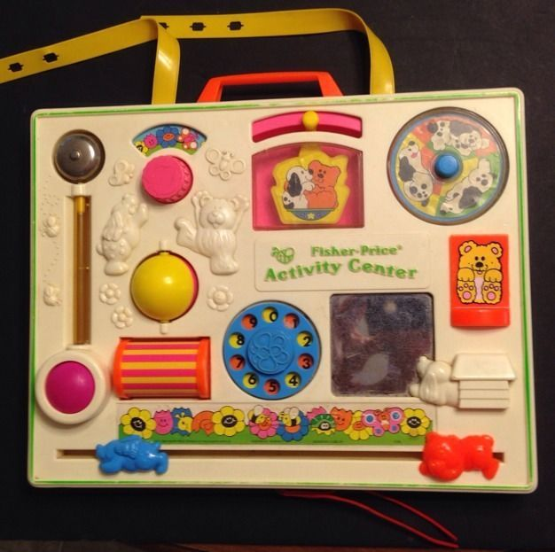 Details About Vintage 1973 Fisher Price Activity Center
