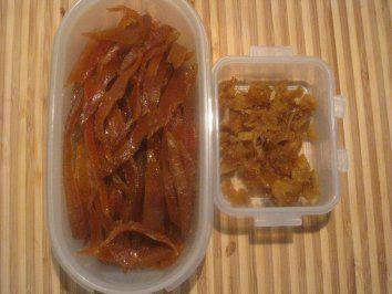 Das perfekte Kandierte Ingwer-Orangenschalen & Orangen-Ingwer + Orangen-Ingwer-Sirup-Rezept mit einfacher Schritt-für-Schritt-Anleitung: Orangenschalen…