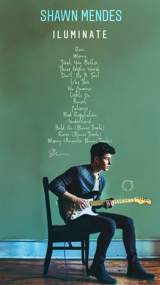 Pin By Supraja On Shawn Mendes Shawn Mendes Album Shawn Mendes Wallpaper Shawn Mendes Illuminate Album