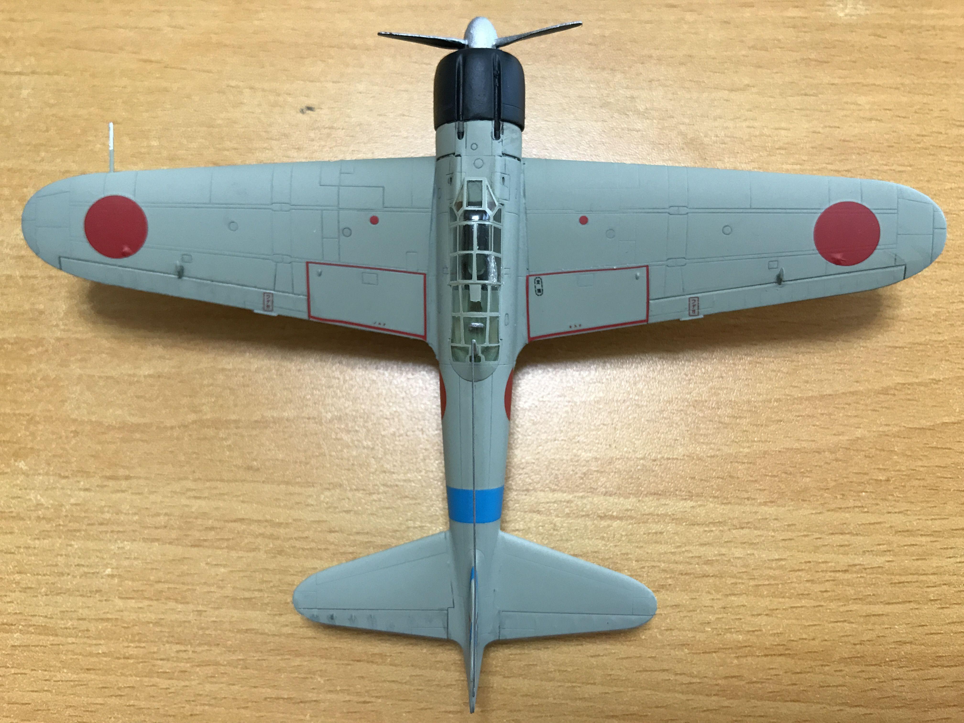 1/72 ハセガワ 零式艦上戦闘機21型・空母「蒼龍」第2次攻撃隊制空隊 ...