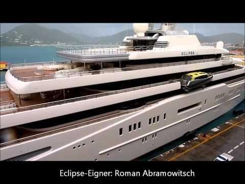 eclipse yacht die gr te private yacht der welt trifft auf das eclipse pinterest. Black Bedroom Furniture Sets. Home Design Ideas
