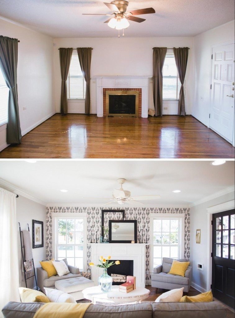 Fixer Upper Season 3 Episode 16 The Chicken House Living Room Remodel Trendy Living Rooms Living Room With Fireplace