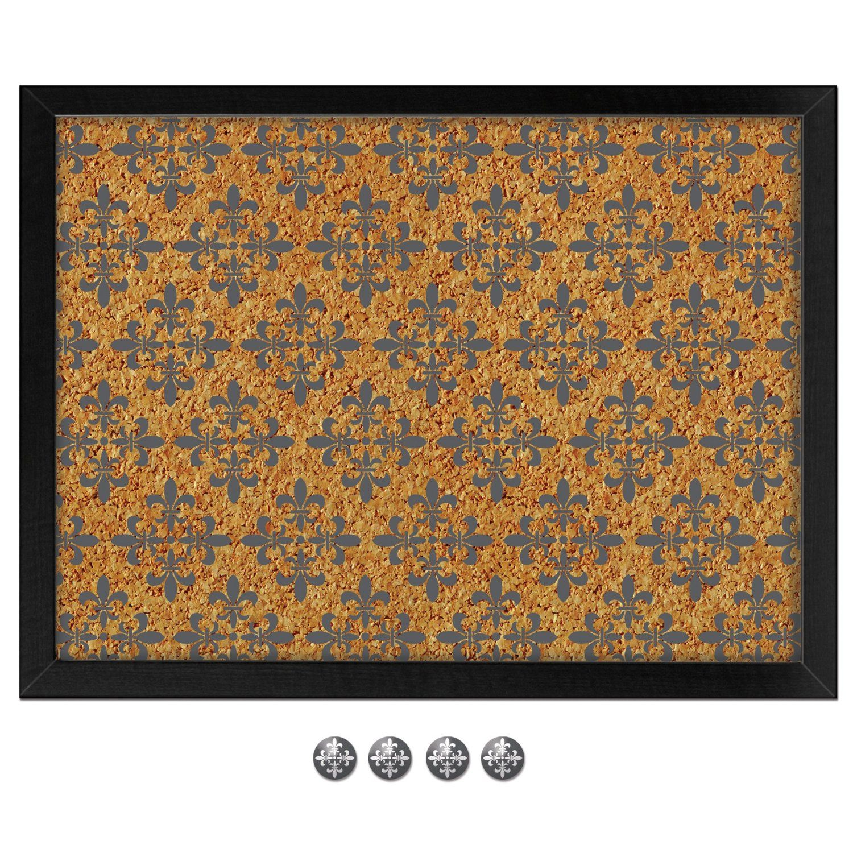 Wall Pops HB0688 Veranda Printed Cork Board Decorative