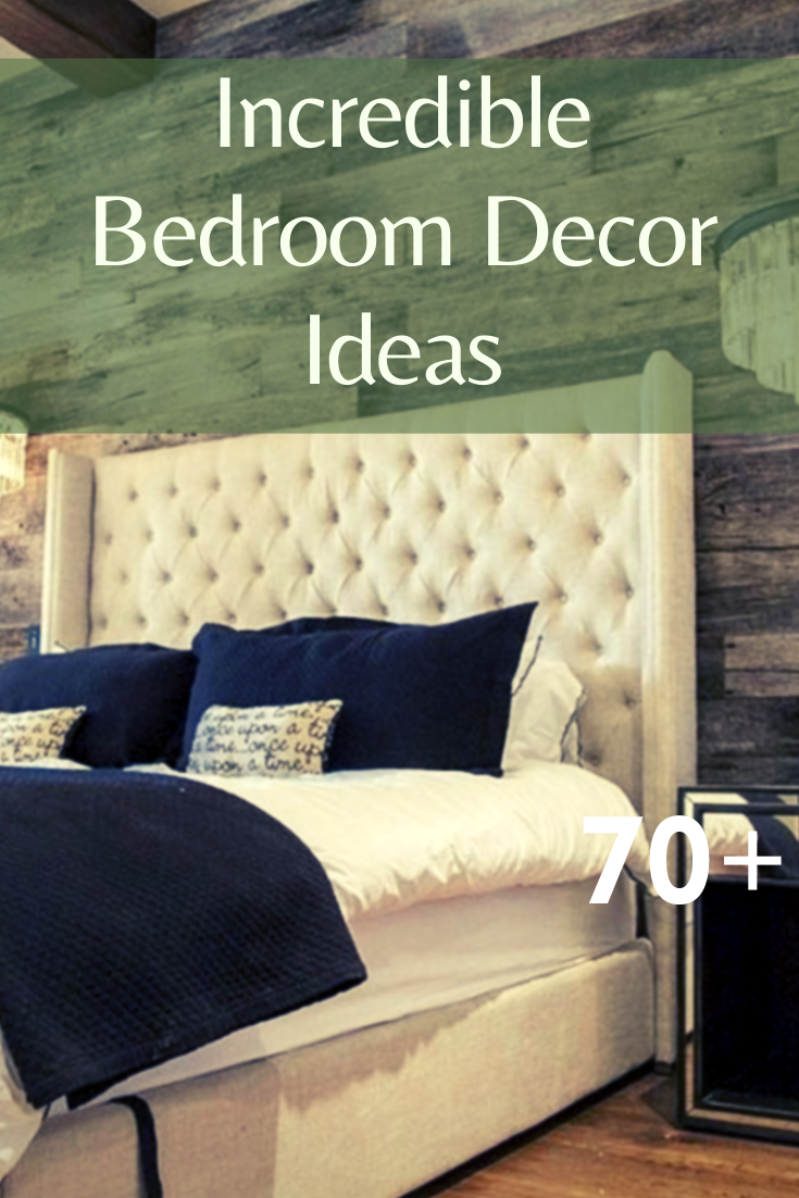 70+ Incredible Bedroom Decor Ideas #bedroomdecorideas