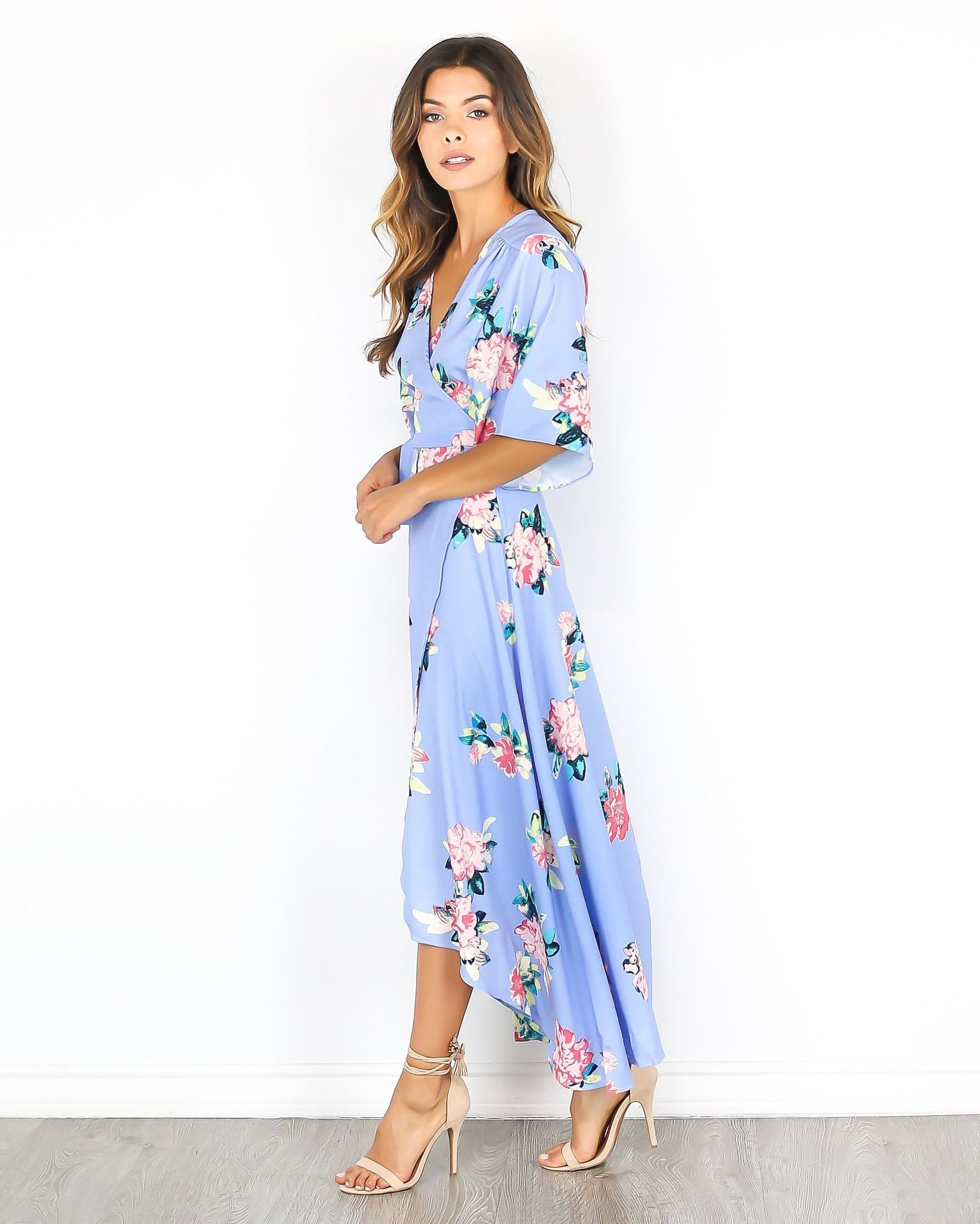 Almost over wrap maxi dress ropa pinterest maxi dresses wraps