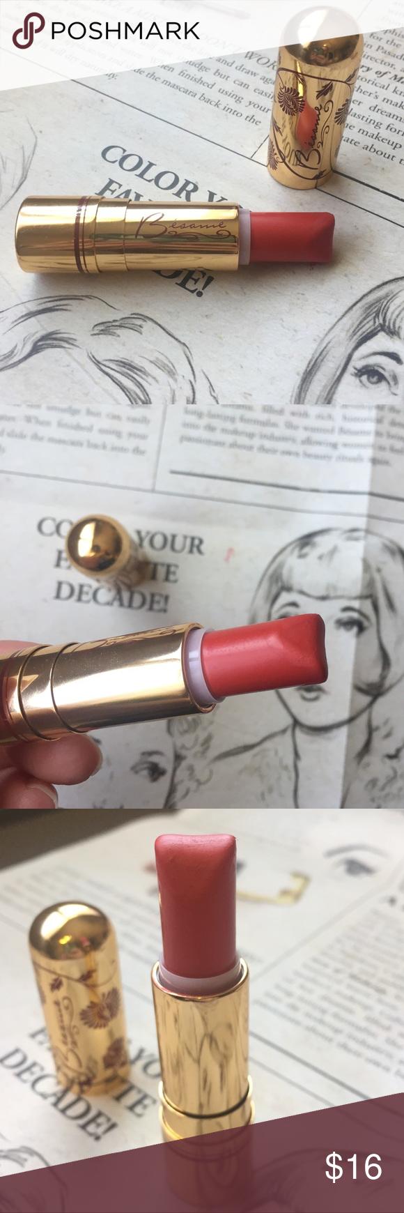Tango Red Bésame cosmetics lipstick retro vintage Besame