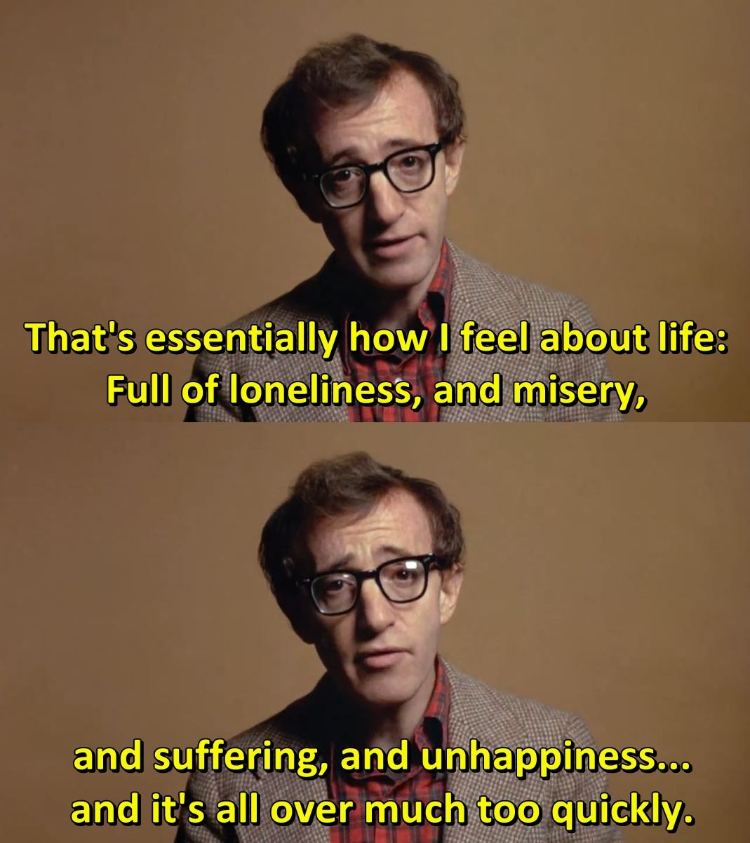 Woody Allen In Annie Hall 1977 The Best Movie Lines