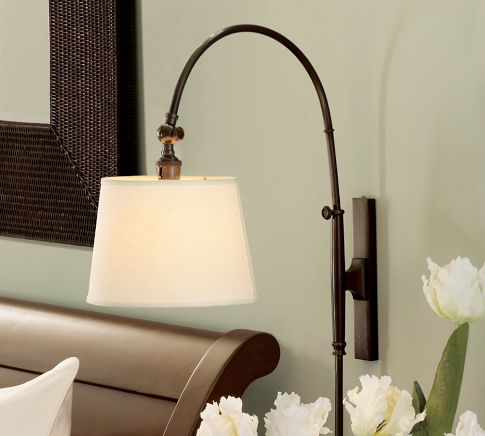 Pottery Barn Adjustable Arc Sconce In 2019 For The Home
